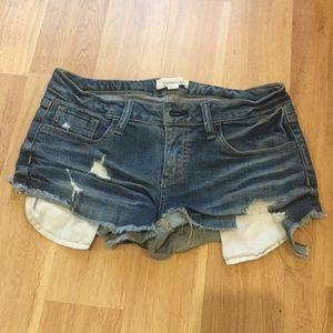 Forever 21 jean short pants size27 like new
